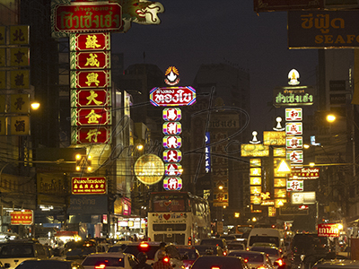 Locations in Thailand: Chinatown