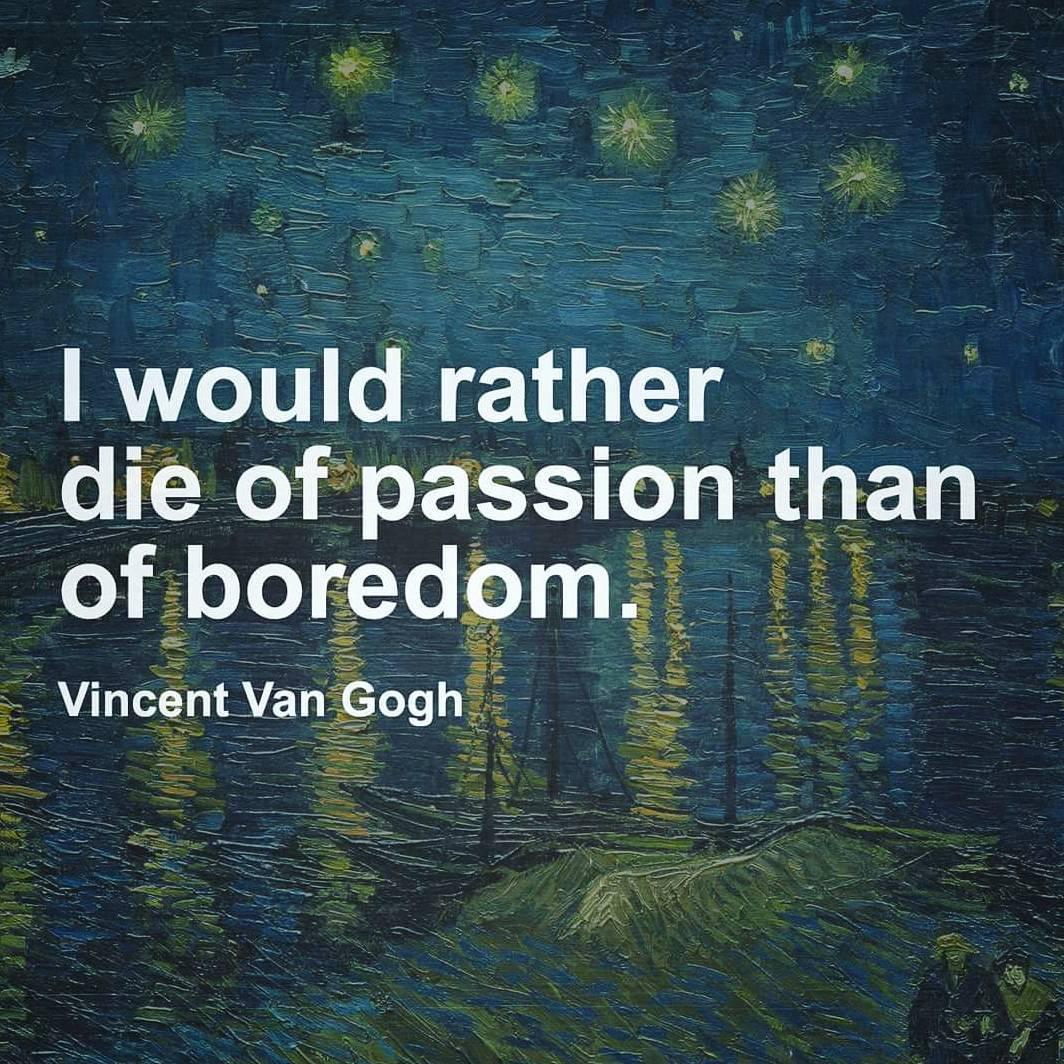 #passion vs. #boredom