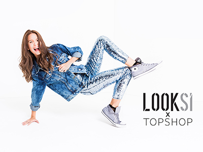 LOOKSI x TOPSHOP DENIM